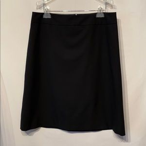 Banana Republic Black Wool Career Wear Skirt SZ 12